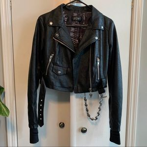 Widow Cursed Obscurity Moto Jacket